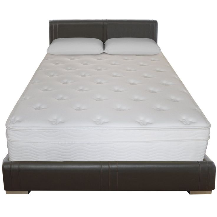 sleep master deluxe euro box top pocketed spring mattress king when purchasing a mattress one of the most important things to consider is comfort