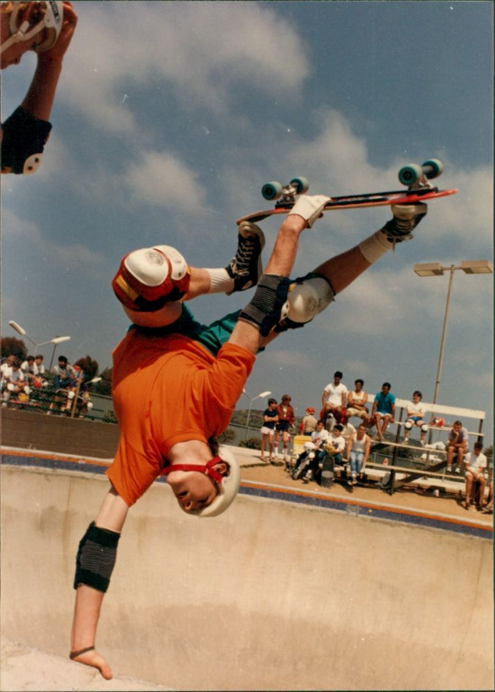 Jeff Grosso, Del Mar, 1985.