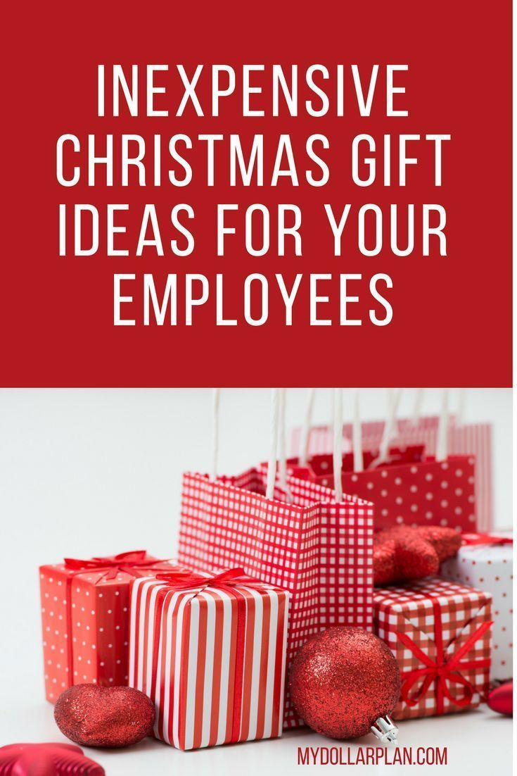 Inexpensive Christmas Gift Ideas For Your Employees Inexpensive Christmas Gifts Employee Christmas Gifts Employee Gifts Christmas