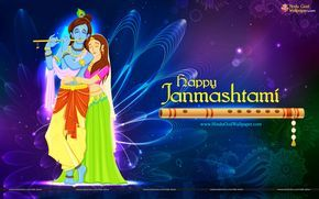 Happy Janmashtami Wallpapers and Images for Facebook