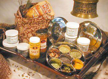 Ajika Traditional Spice Box -Gift Basket - http://spicegrinder.biz/ajika-traditional-spice-box-gift-basket/
