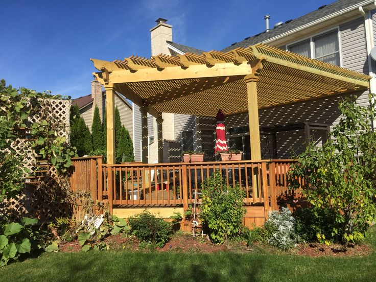 136 best ChicagoArea Pergola Builder images on Pinterest Photo