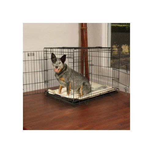 baked powdercoat finish all sizes include a divider panel petco premium dog crate medium these collapsible dog crates are assembled and easy to set up