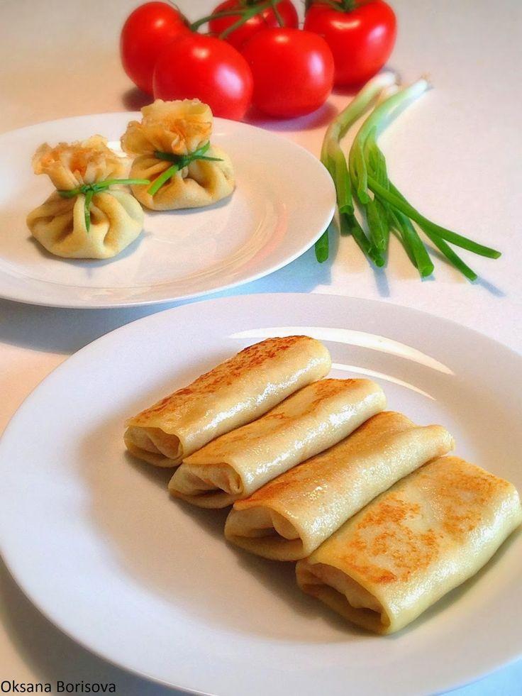 Кулинарные моменты: Блинчики с мясом(loved)