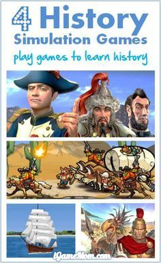 Learning history is more interesting with these fun games - kids role-play as historical figures, handle the tough situations under the historical setting, learn the history first-hand while playing games. Great resource for school social study class and homeschool.