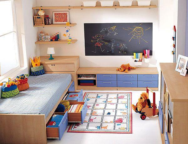 Mais espaço no quarto das crianças