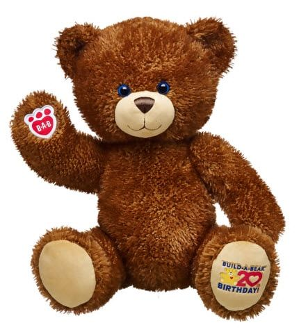 Build-A-Bear is celebrating its 20 year anniversary. The retailer has also introduced a new bear.