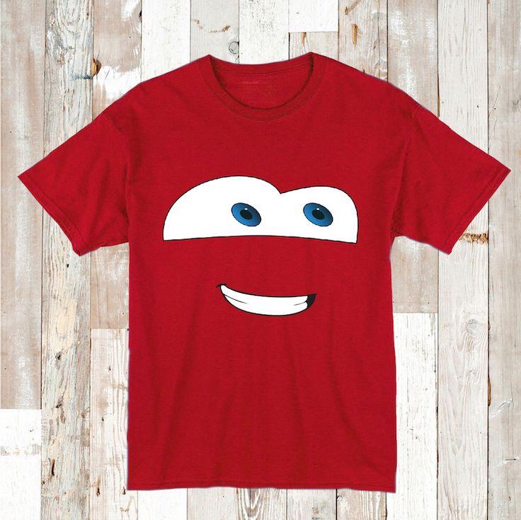 Disney Car Lightning McQueen T-Shirt _ Lightning McQueen Tees _ Disney Cars Tshirt _ Personalized Boys Birthday Clothes _ Prime Decals