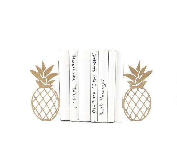 Metalen boekensteunen ananas / / keuken boek houders / /