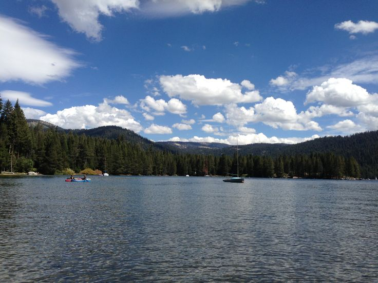 View of Huntington Lake from Deer Creek Campground