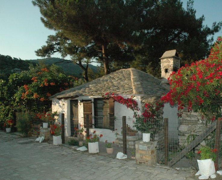 Alyki, Thassos, Old house - Alyki Thassos Island, Kavala