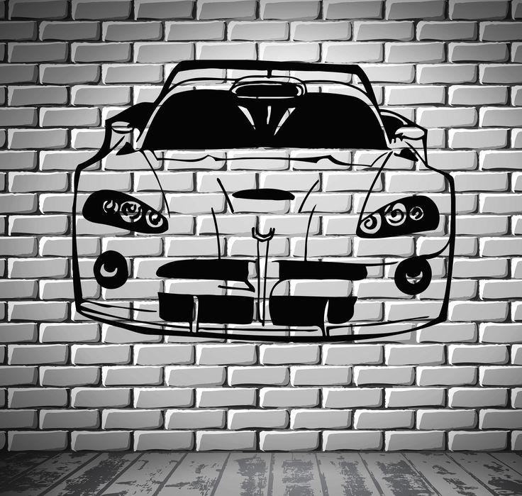 Best Cars Wall Stickers Decals Images On Pinterest Room Decor - Lightning mcqueen custom vinyl decals for carlightning mcqueen camaro car decals unique items racing