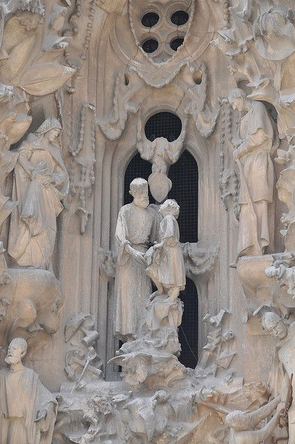 Sagrada Familia detail | La Sagrada Familia Detail | Flickr - Photo Sharing!