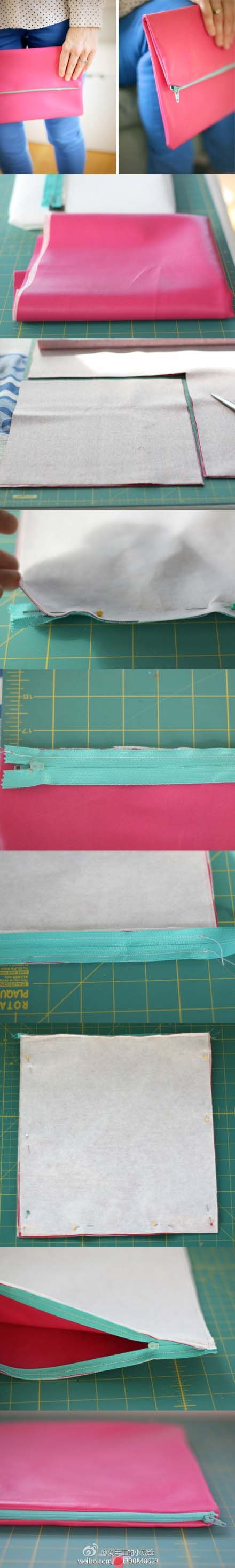 TUTO DIY : comment faire une pochette, simple mais classe !