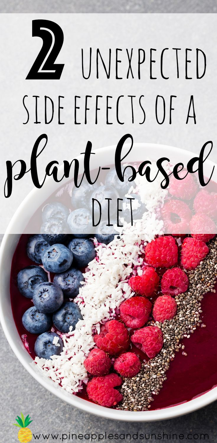 switching to plant based diet side effects