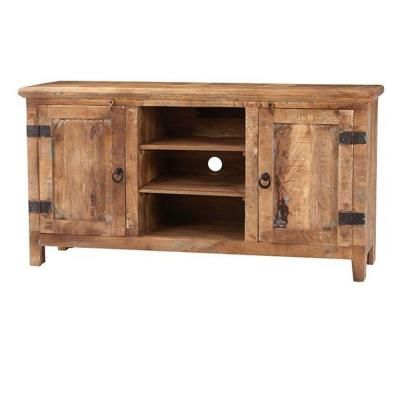 home decorators collection holbrook reclaimed natural entertainment center home the o 39 jays. Black Bedroom Furniture Sets. Home Design Ideas