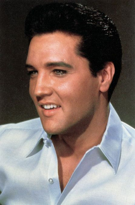 Elvis Presley is at the very top of my list. There'll never be another like him.
