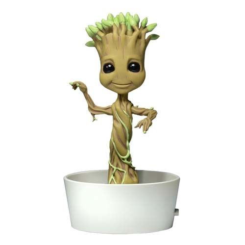 I need this solar-powered Groot bobble head in my life!