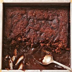 This chocolate pudding cake is a homemade dessert you can't pass up! It puts a twist on a classic brownie recipe with a gooey filling inside a moist cake brownie. Only 20 minutes of prep time means this is a quick and easy chocolate dessert!