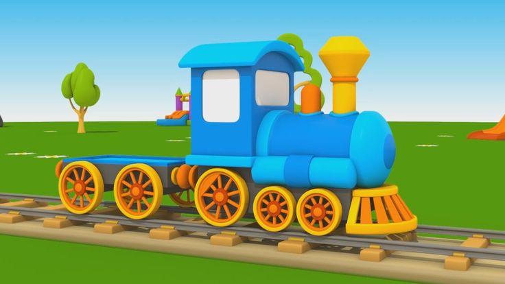 Cartoni Animati per Bambini - Leo Junior: Come si fa una locomotiva?