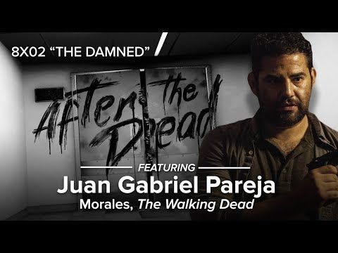 After The Dead: 'The Walking Dead' 8x02 with Morales & Aaron -- After The Dead is at Walker Stalker Atlanta this week to recap and break down 'The Walking Dead' season 8, episode 2. We are joined by Ross Marquand (Aaron) and are featuring a BIG surprise guest - Juan Gabriel Pareja (Morales), who may or may not tease the 'Fear The Walking Dead' crossover! You aren't going to want to miss this!  | Comicbook.com