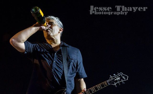 The 1 & Only Pat Smear! Photo taken in 2015. Prints are available on my Smugmug page! #jessethayer #foofighters #davegrohl #patsmear #taylorhawkins #chrisshiflett #natemendel #livemusicphotography #concertphotographer #concertphotography #sonichighways #soundcity #guitar #rockicon #canon #roadie #picoftheday #photooftheday #champagne #rockstar #thegerms #nirvana #kurtcobain #grunge #90s #chrisnovoselic @marigrohld @suzy_foo_too @foofighters