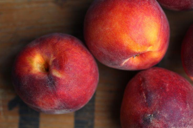 Peach Streusel Tart recipe via Lila De Lila