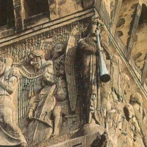 Bartholdi's detail from the Brattlestreet church Boston