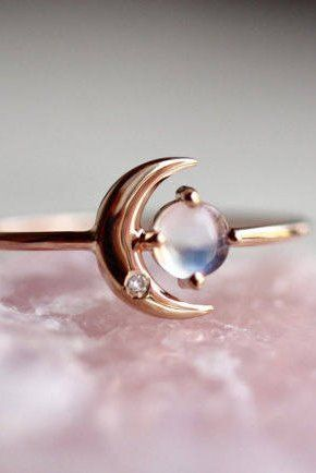 We love this ring to the moon and back.
