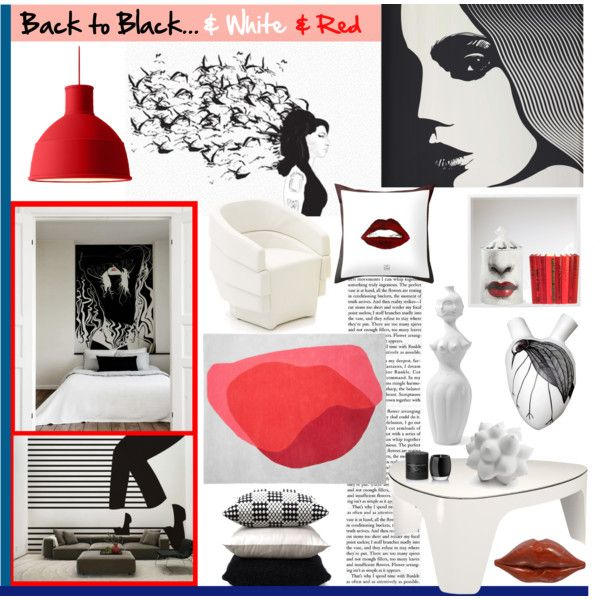 Back to Black... by pixers on Polyvore