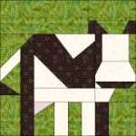 Farm animal quilt blocks. It's in Dutch, but has printable paper piecing templates.