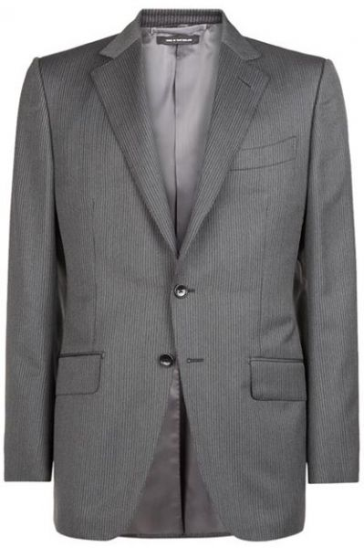 Tom Ford O'Connor Grey Pinstripe Suit