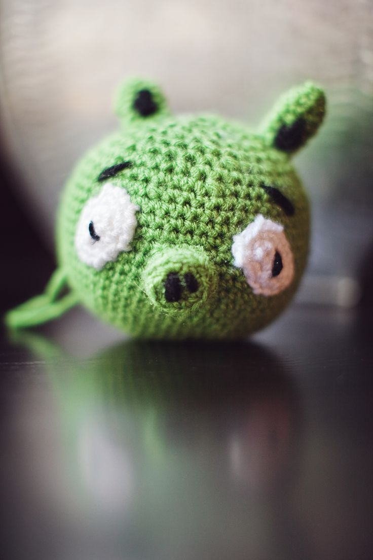 Amigurumi Green Pig : 188 best images about Knit & crochet on Pinterest ...