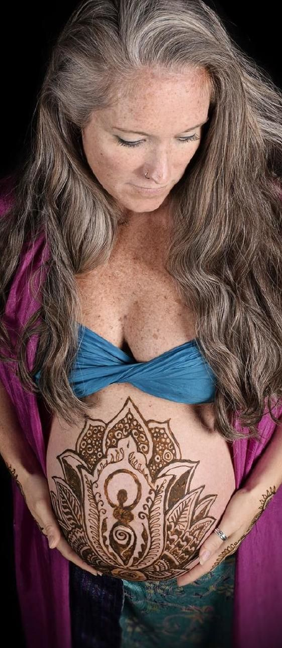 Stunning mama wanted a goddess inside a blooming lotus for her henna belly design. Gorgeous! #ClippedOnIssuu from Artfull Mother Magazine ~ Summer 2015