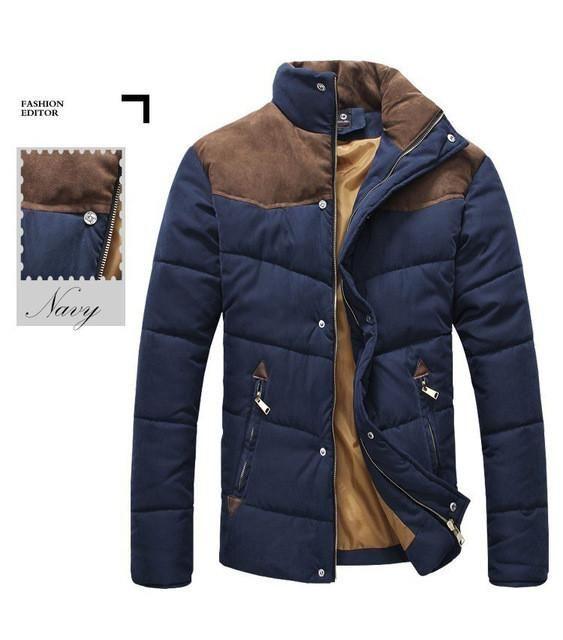*Online Exclusive* Men's Cotton-Padded Coat