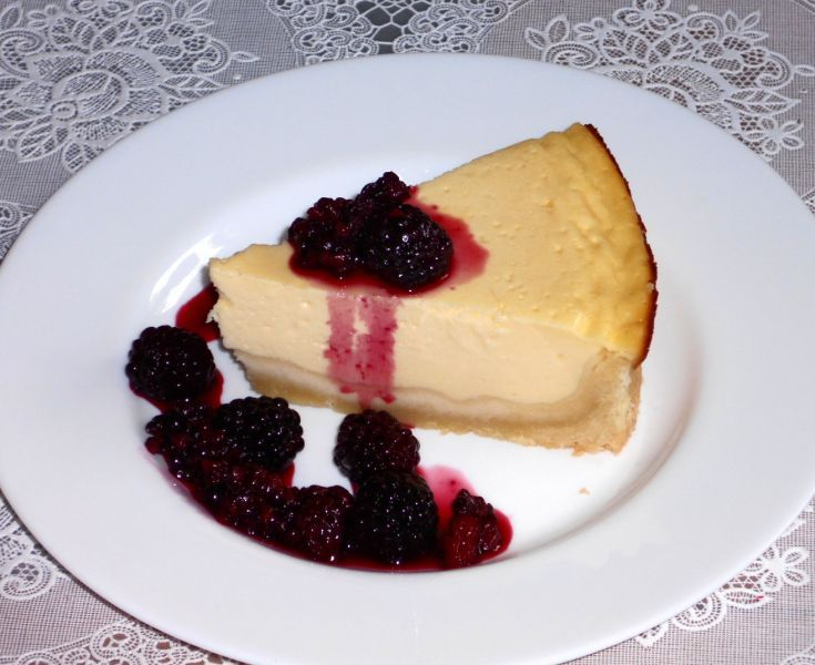 Fotorecept: Cheesecake s ovocím