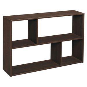 ClosetMaid Mini Offset Storage Unit - Dark Brown