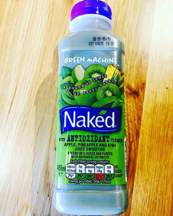 The only green machine you need on a Friday morning @nakedjuiceuk #antioxidant #naked #vitamins #greenmachine #juice #smoothie #apples #bannana #kiwi #mango #pineapple #spirulina #chlorella #spinach #bluegreenapple #goodness #onthego #healthy #fitnessmotivation #healthylifestyle #healthychoices #goodlife #goodvibes #fitlife #smoothiesonthego #picture #picoftheday #instalikes #instagram #instagramer