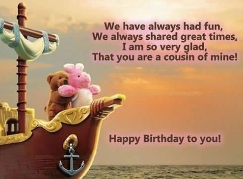 Birthday Wish For Cousin Sister 65 Fabulous Birthday Wishes for