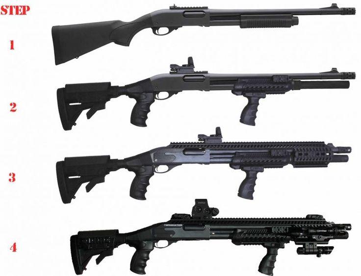 Mon Remington 870 Express tactical Custom