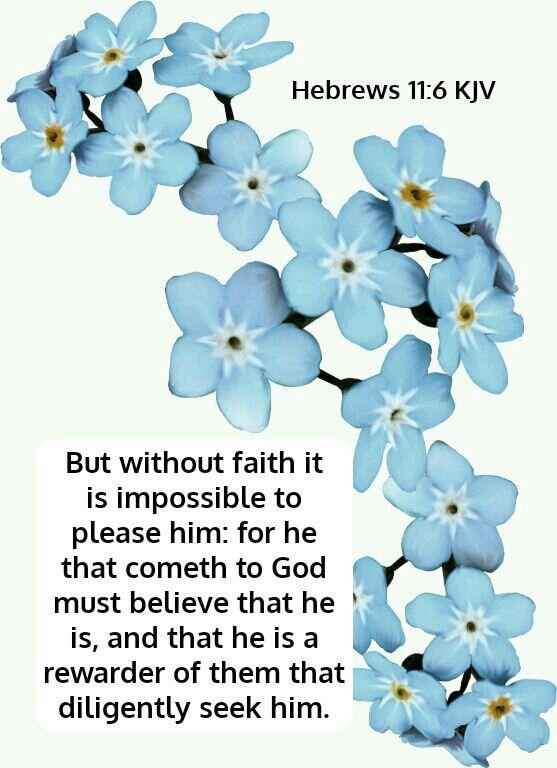 Hebrews 11:6 KJV