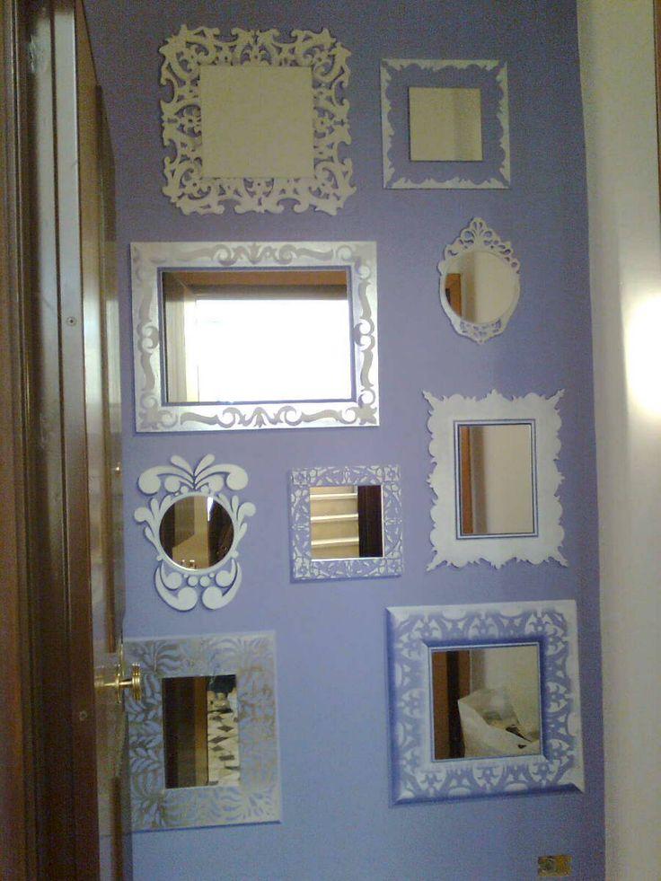 Oltre 1000 idee su cornici dipinte su pinterest progetti for Cornici muro