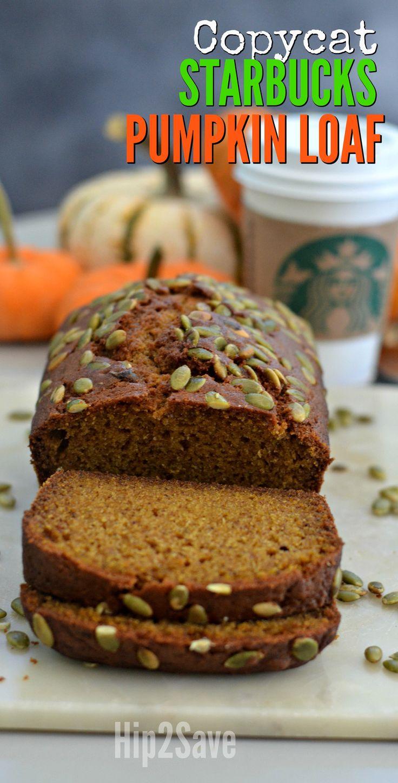 Love Starbucks Pumpkin Bread? Get the Copycat Recipe – Hip2Save