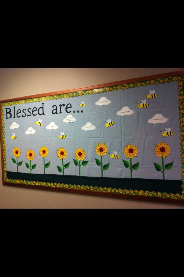Beatitudes Bulletin Board Bulletin Board Ideas