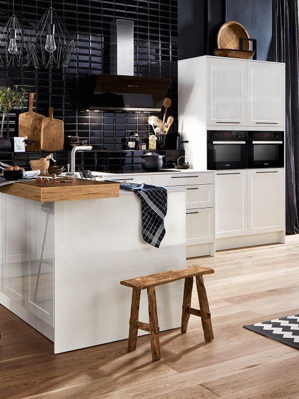 42 best Farbenfrohe Küchen images on Pinterest   Color schemes ...