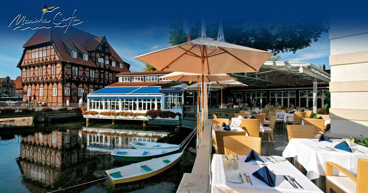 Gut Essen in Lüneburg im Spezialitäten Restaurant - Sonntagsbrunch Café Marina