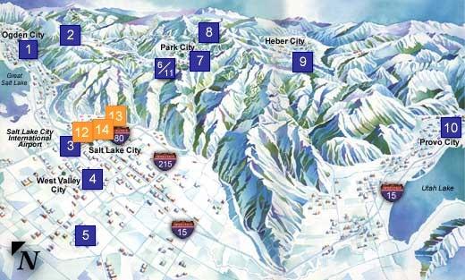 2002 Winter Olympics - Olympic Venues