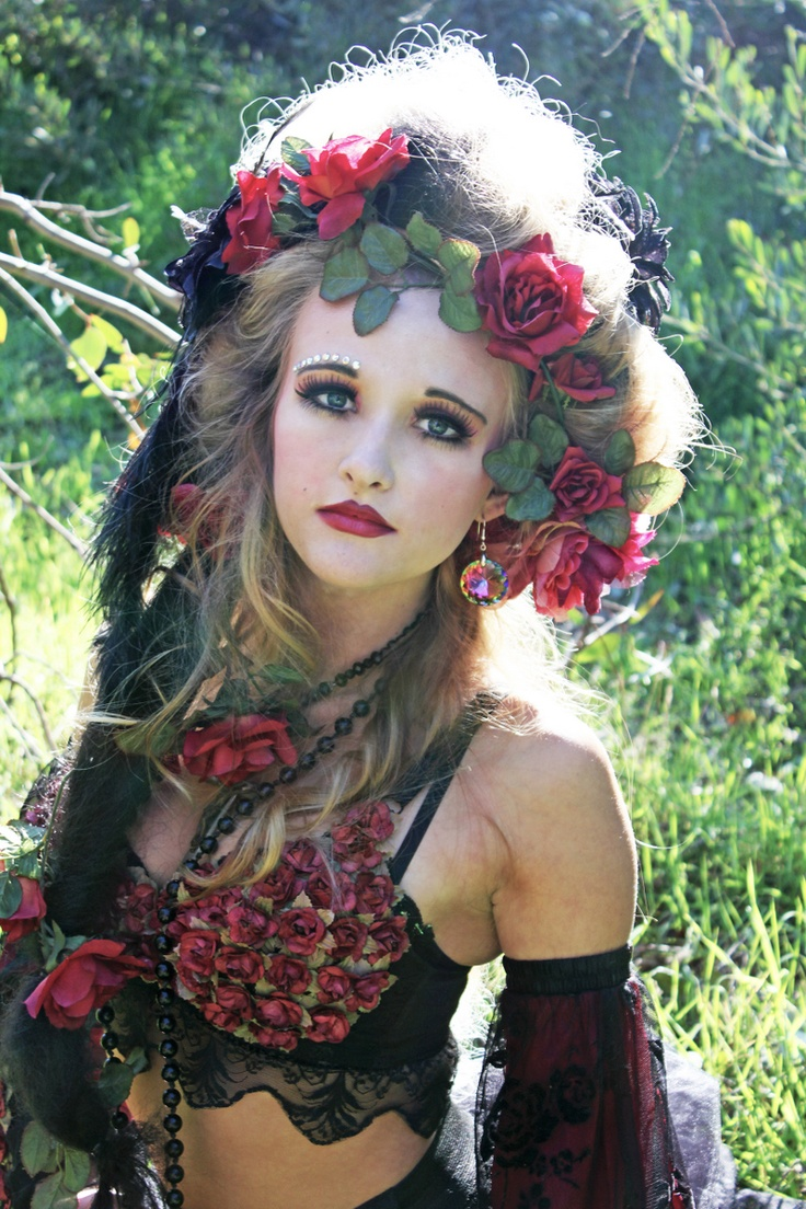 flower maiden fantasy beautiful