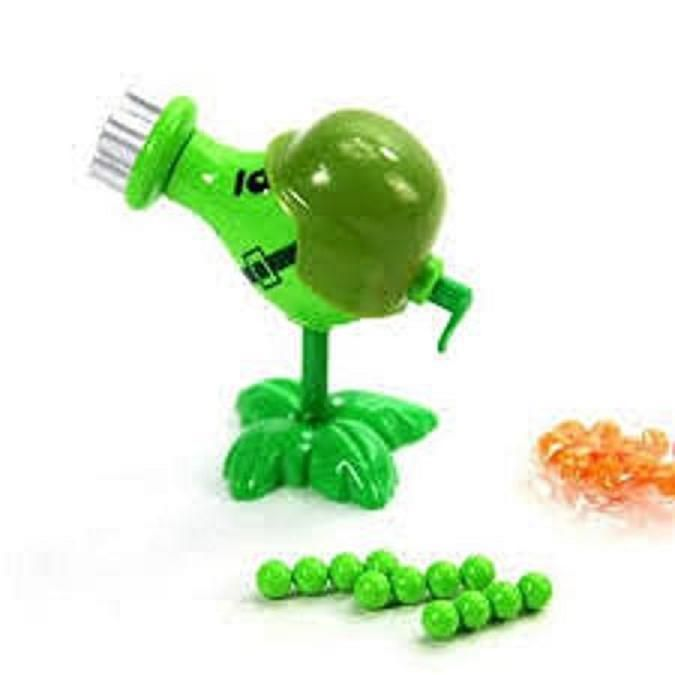 Plants vs Zombies Toys Gatling Pea ABS Shooting Doll PVZ Toy US Ready Stock  #Unbranded