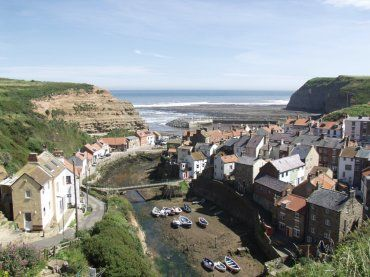 Photograph of Staithes, North Yorkshire, England